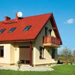 Установка двускатной крыши