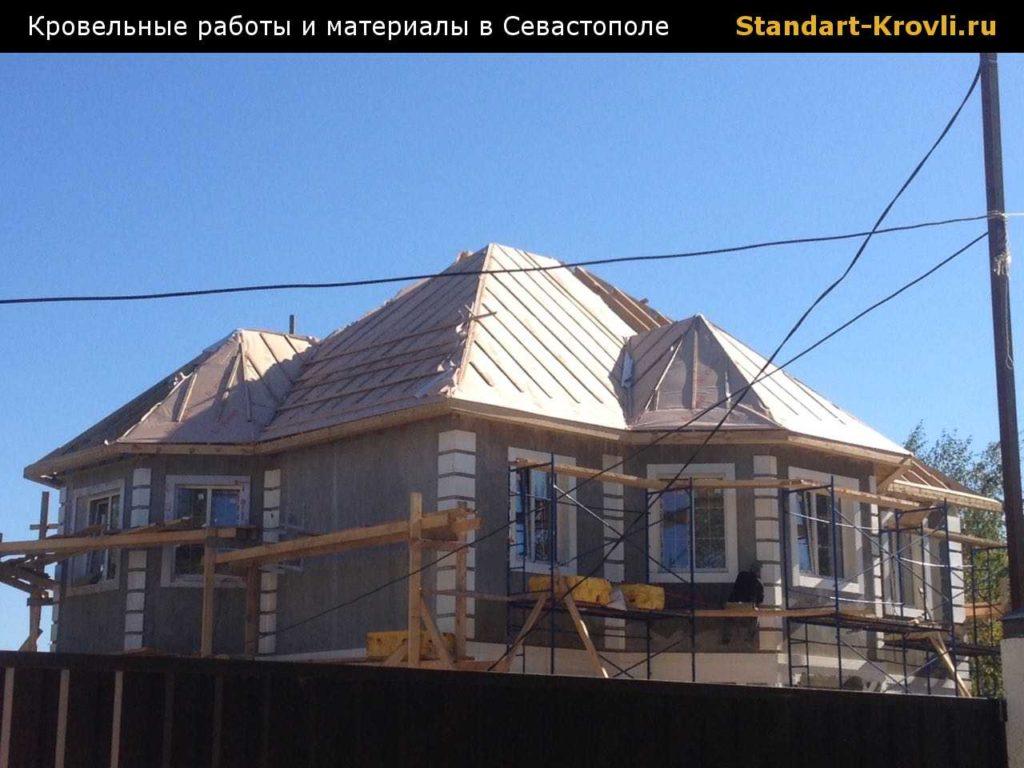 Выполнение кровельных работ в Севастополе